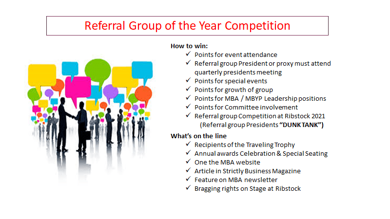 Referral Group Incentive